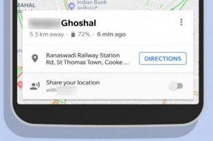 Google unaprijedio opciju djeljenja lokacije unutar Google Maps aplikacije