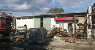 Danilovgrad: Požar u marketu, nema povrijeđenih